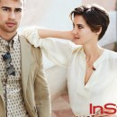 Shailene Woodley & Theo James Featured In March Issue Of In Style Magazine