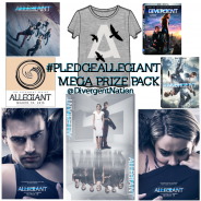 {#PLEDGEALLEGIANT} Win A MEGA PRIZE PACK Filled With @Divergent Swag